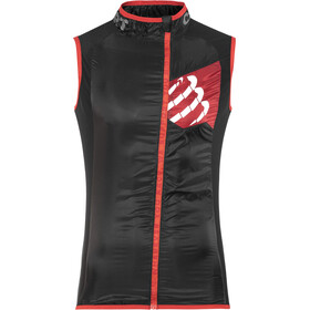 Compressport Trail Hurricane Hardloopvest Heren, black